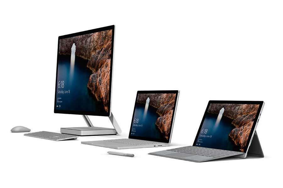 О новых Microsoft Studio PC, Surfacebook и Microsoft VR