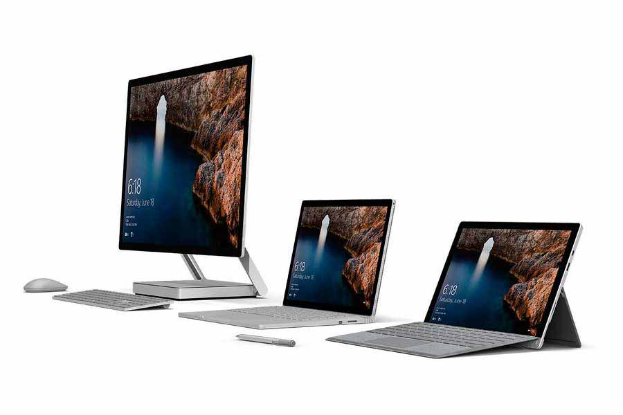 О новых Microsoft Studio PC, Surfacebook и Microsoft VR